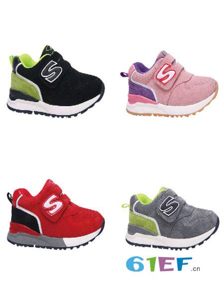 博仕屋童鞋品牌�底�W步鞋男女童鞋�涡�