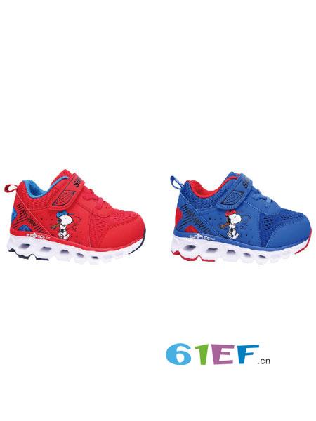 博仕屋童鞋品牌�W鞋小童防滑�底�胗�和�鞋春秋公主鞋