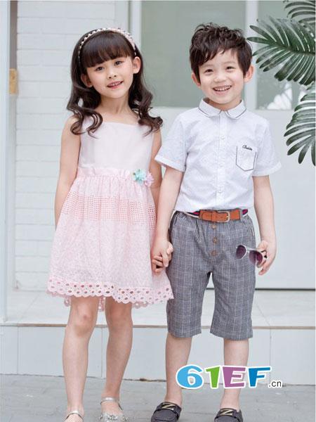 巴比兔龙8国际娱乐官网品牌2018春夏短袖衬衫生日装男童上衣潮