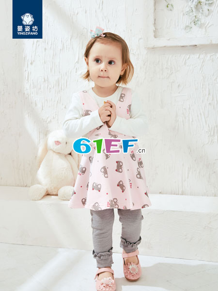 婴姿坊yingzifan童装品牌2018春夏公主长袖户外服装