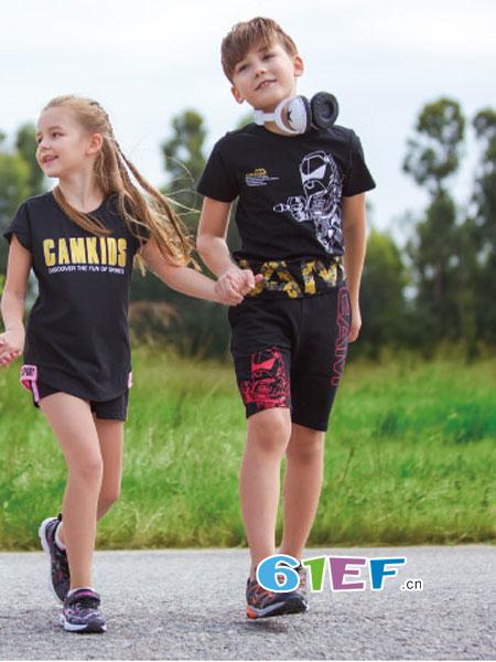 CAMKIDS垦牧童装品牌2018春夏纯棉中袖T恤