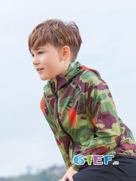 CAMKIDS垦牧童装品牌2018春夏纯棉长袖运动服