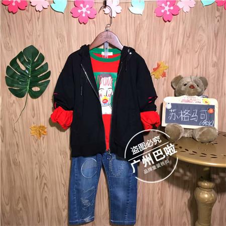广州品牌童装折扣批发尾货货源 供应一手货源