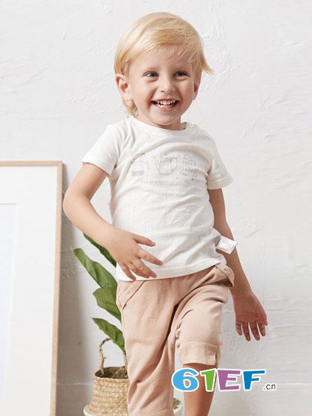 童泰龙8国际娱乐官网品牌2018春夏婴儿纯棉短袖夏季上衣潮童