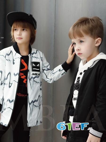杰米熊童装品牌2018秋冬韩版潮流夹克修身潮外套