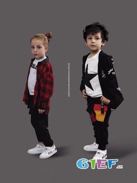 YukiSo童装品牌2018秋冬儿童装小孩男孩羊毛衫大童毛线衣