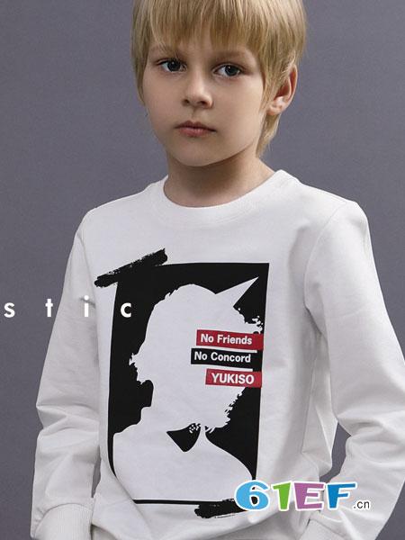 YukiSo童装品牌2018秋冬儿童卡通动物童装针织毛衣