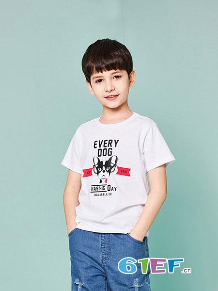 天天向上童装品牌2018春夏儿童装夏季男孩大童帅气岁两件套