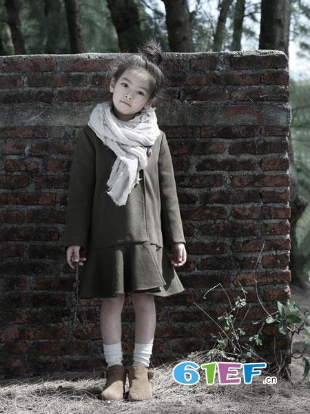 森虎儿童装品牌2018秋冬新款韩版上衣外套中大童童装连帽套头宽松