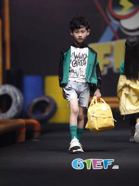 斐�iFRIVEN童装品牌创新、无畏、个性、阳光!