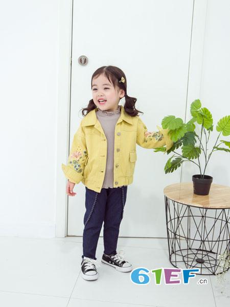 安米莉AMILRIS龙8国际娱乐官网品牌2018秋冬短款夹克中大童女孩春装新款潮