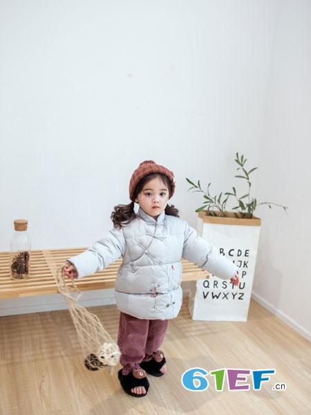 安米莉AMILRIS龙8国际娱乐官网品牌2018秋冬中大女童羽绒棉韩版儿童加厚外套