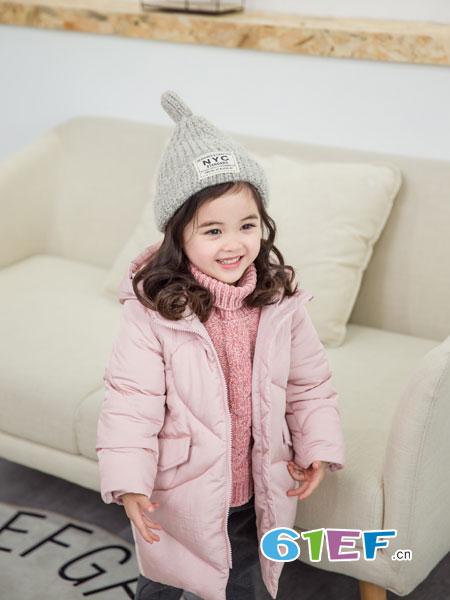 安米莉AMILRIS龙8国际娱乐官网品牌2018秋冬新款女童棉袄韩版外套中大童