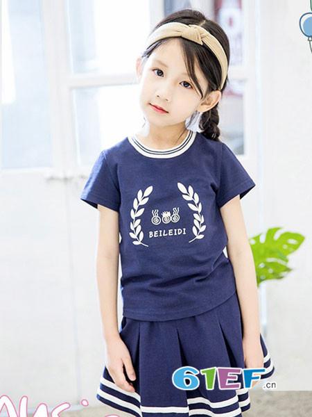 贝蕾地童装品牌2018春夏休闲裙子套装