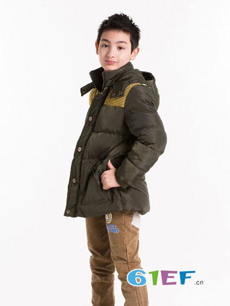 小神童童装品牌2018秋冬棉袄