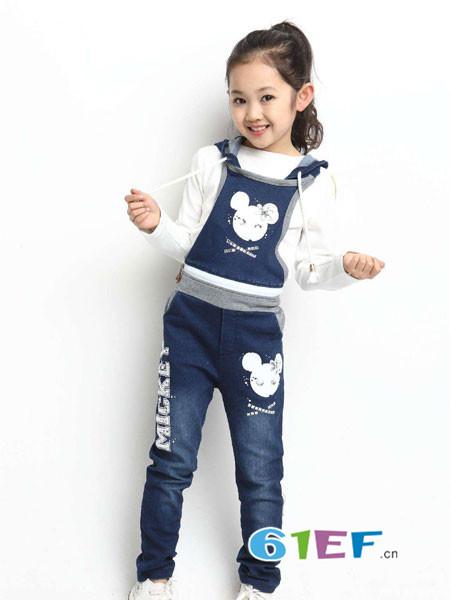 小神童童装品牌2018秋冬牛仔套装