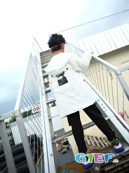 下一个奇迹童装品牌2018秋冬新款韩版修身棒球服翻领休闲外套