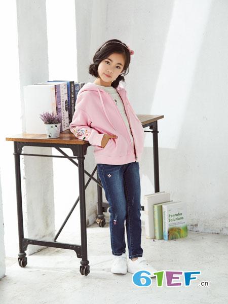 可趣可奇童装品牌2018秋冬纯棉长袖休闲外套