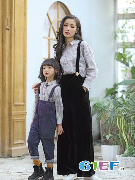 德蒙斯特童装品牌2018秋冬韩版长袖牛仔裤