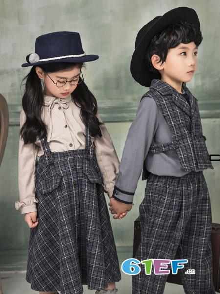 东宫皇子童装品牌2018秋冬衣裤套装
