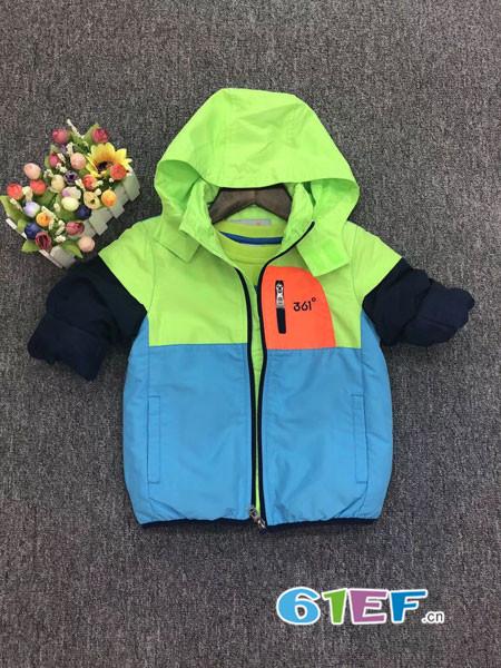 天天向上童装品牌2018秋冬休闲外套