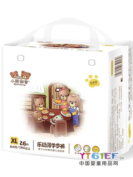 小熊做客婴童用品2018春夏 乐动薄学步裤大码L男女通用