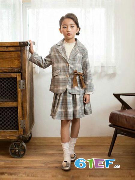 酷小孩童装品牌2018秋冬裙子套装