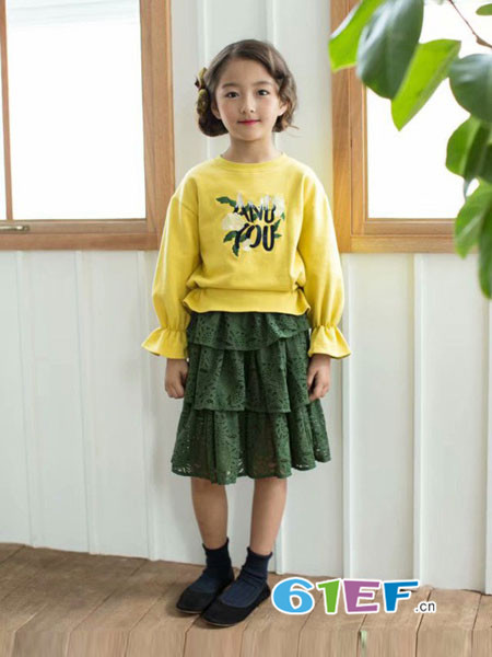 酷小孩童装品牌2018秋冬卫衣