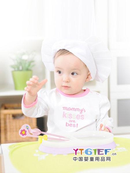 贝亲 - pigeon婴童用品2018春夏小孩家用宝宝吃饭婴辅食训练便携叉勺