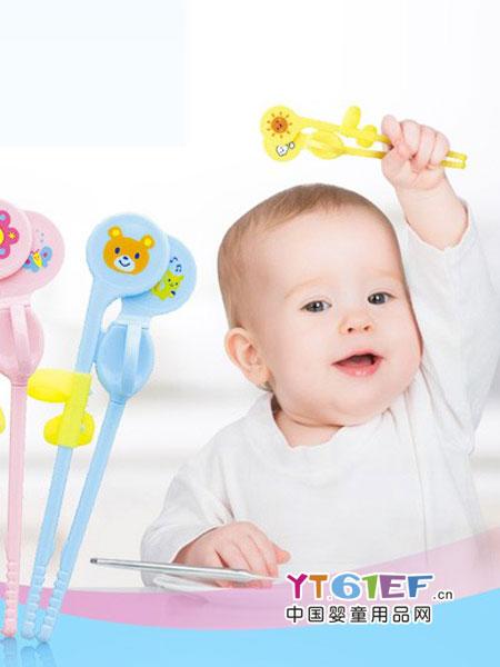 贝亲 - pigeon婴童用品2018春夏左右手训练筷幼儿餐具纠正辅佐吃饭用品