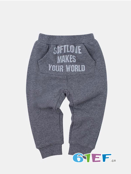 SOFTLOVE童装品牌2018秋裤子