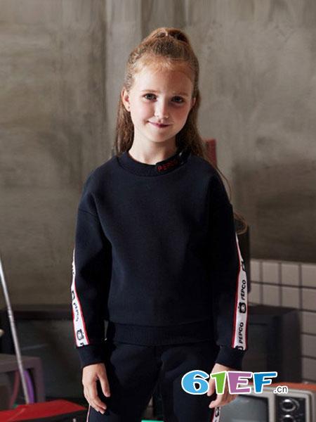 小猪班纳龙8国际娱乐官网品牌2018秋冬龙8国际娱乐官网中大童套头毛衫儿童针织衫线衫