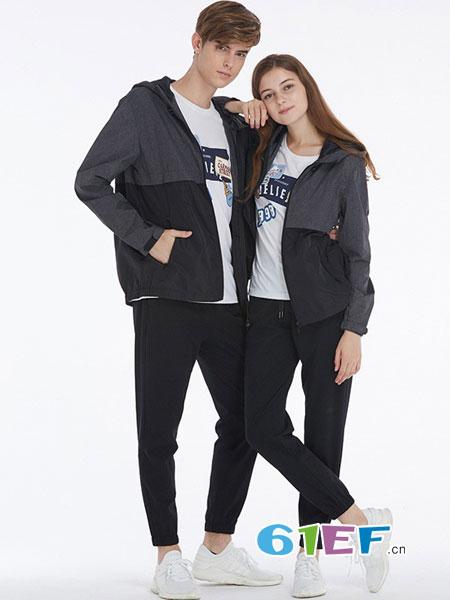纳迪亚情侣亲子2018春夏短袖T恤 男女装简约休闲圆领短袖T恤