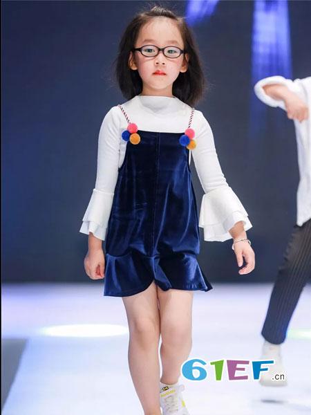 mini petrel童装品牌2019高领打底衫全棉宝宝针织衫线衣