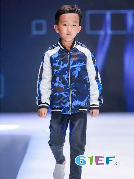 mini petrel童装品牌2019男童针织长袖外套