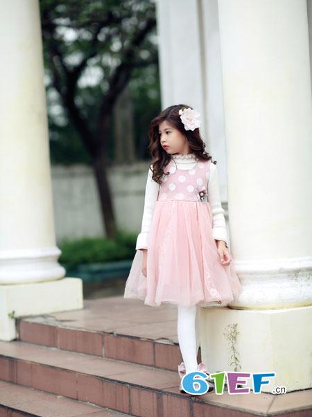熙熙Ceicei龙8国际娱乐官网品牌2018秋冬儿童中大童连衣裙潮