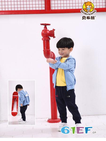 贝布熊BeiBuXiong龙8国际娱乐官网品牌2018秋季新款儿童风衣韩版潮 小男孩夹克上衣