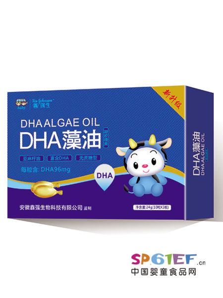 鑫强生婴儿食品2018春夏DHA藻油凝胶糖果