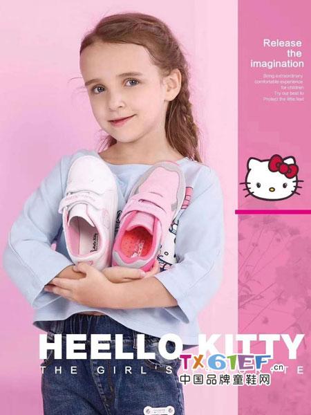 Hello Kitty凯蒂猫童鞋品牌 更容易搭配,时尚感爆棚