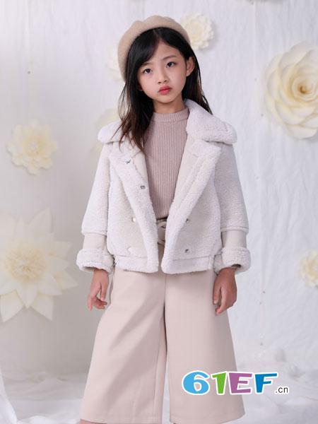 恋衣臣龙8国际娱乐官网品牌2018秋冬新款毛衣宝宝中长款加绒外套