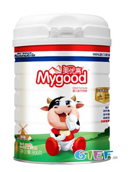 美优高婴儿食品2018春夏婴儿配方奶粉1段800克