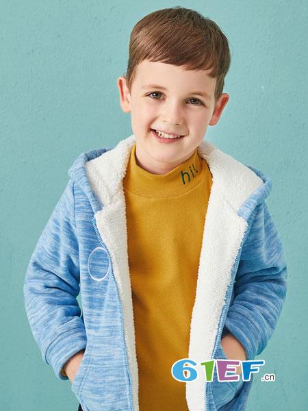 dishion的纯童装冬季新品 保暖时尚
