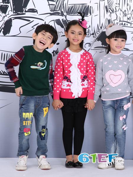 童品壹仓龙8国际娱乐官网品牌2018秋冬儿童毛衫韩版龙8国际娱乐官网针织衫