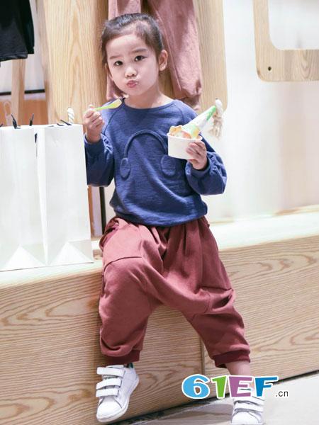 NNE&KIKI童装品牌2018秋冬韩版潮流儿童时尚男童帅气套装