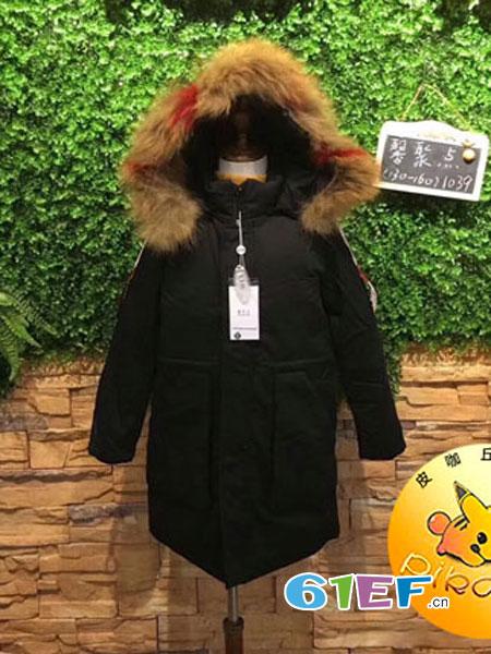 皮咖丘童装品牌2018秋冬新款儿童针织开衫女孩长袖毛衫外套
