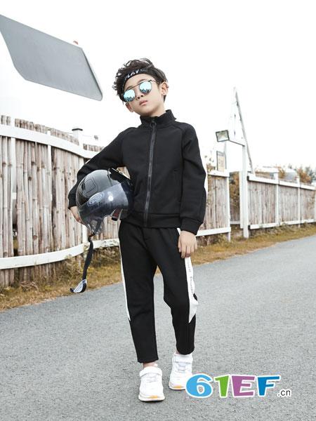 名书曼秀龙8国际娱乐官网品牌2018秋冬纯棉套装两件套