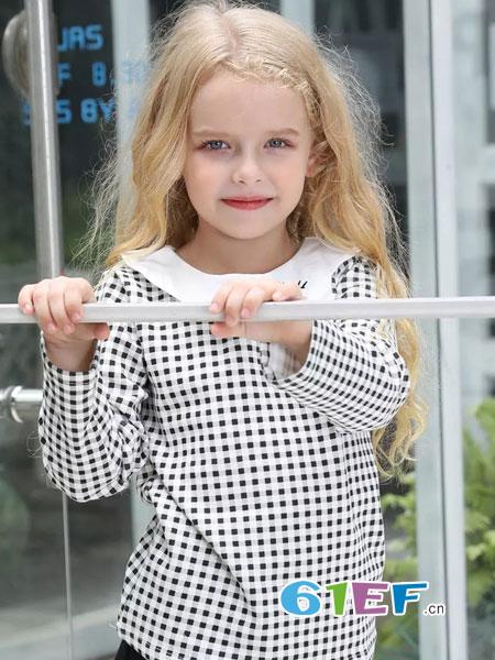 杰米兰帝童装品牌2018秋冬儿童针织衫套装韩版 针织套装