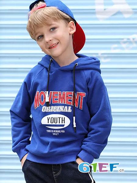 杰米兰帝童装品牌2018秋冬中大童针织衫打底毛线衣男孩儿童套头衫