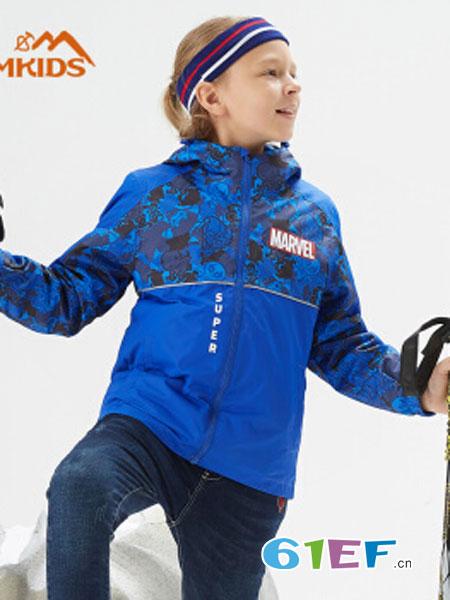 CAMKIDS垦牧童装品牌2018秋冬加厚羽绒服男童