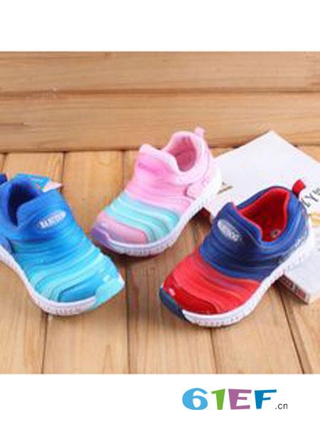 巴布豆/阿卡莉比童鞋品牌透气网面运动鞋